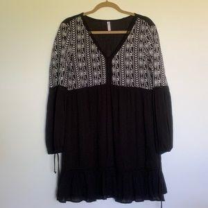 Xhilaration Long Sleeve Dress/Cover up